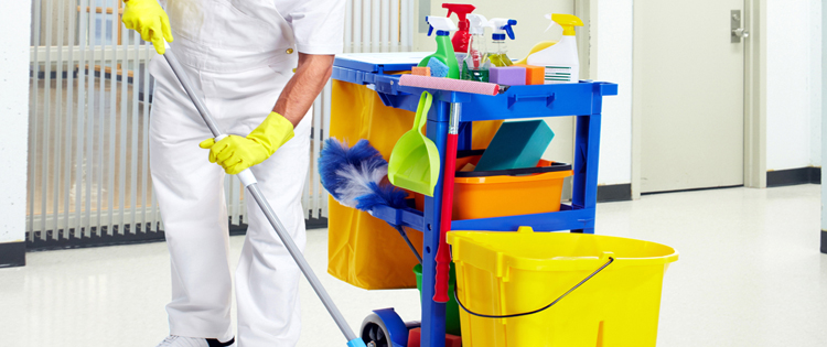 how to get commercial cleaning clients