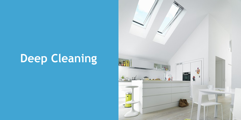 Deep Cleaning Service By Professional Company Smart