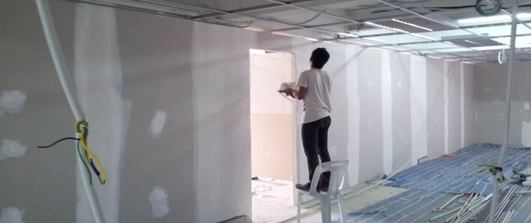 Gypsum Partitions Company Dubai