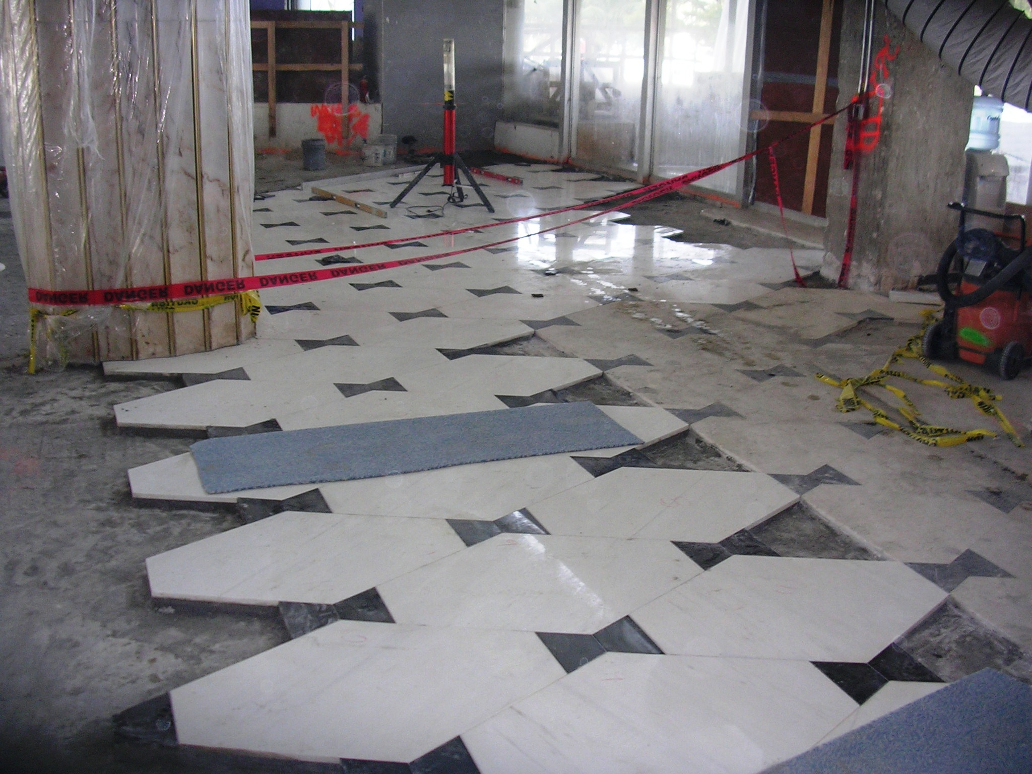 Marble floor installation home flooring ideas for Flooring companies