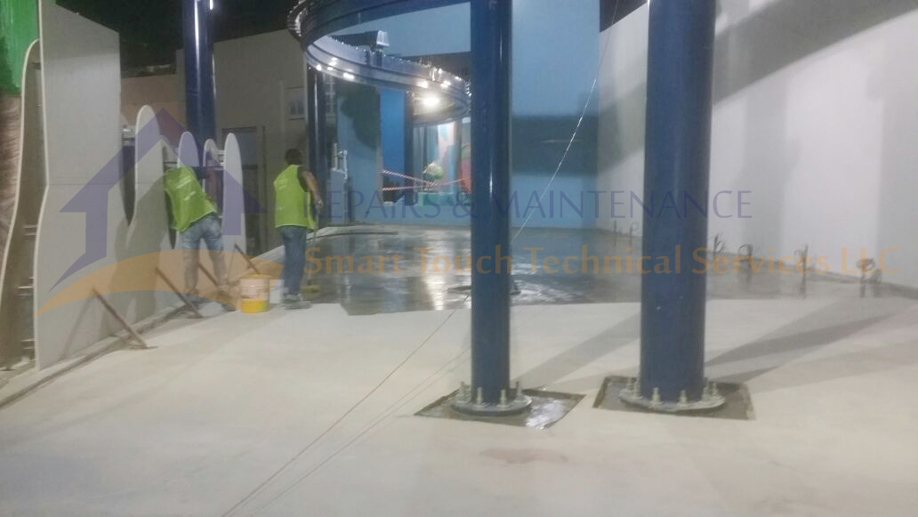 Epoxy Floor Coating & Painting Services in Dubai, UAE (Concrete