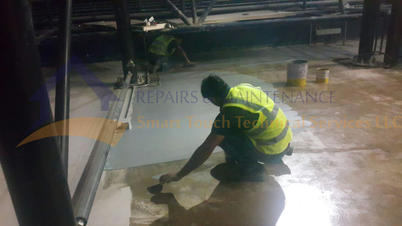 floor painting companies in dubai uae