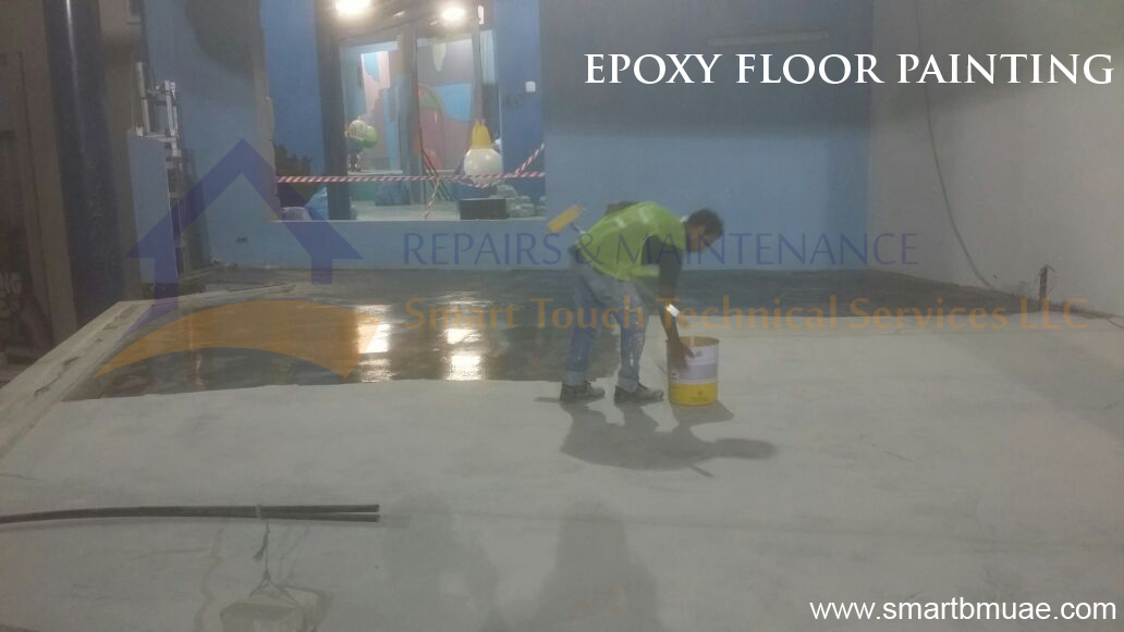 epoxy floor painting services in dubai