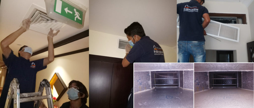AC CLEAN, AIR DUCT CLEAN | Smart Touch Facility Management